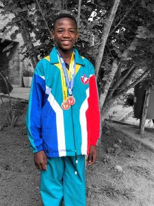 Siyoliso Singanto-SA Colours for Athletics